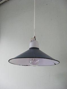 Lampa przemysłowa emalia metalowa LOFT INDUSTRIAL