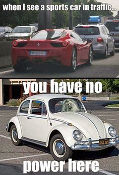 You have no power here!!! — eCards Funny Inc.  #sportscarsintraffic #sportscarhumor #lotrquotesfunny