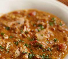 En mycket smakrik kycklingrätt, kryddad på berber-vis.  Recept från Eatingwell