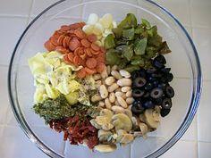 Shelly's Pizza Bean Salad #healthy #recipes #Italian #Sicilian #lowcarb