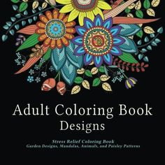 If you're looking for an adult coloring book with a variety of illustrations, this is the book for you. Filled with garden and floral designs, mandalas, animals and paisley patterns, this is truly a coloring book with something for everyone. Why buy multiple coloring books when you can get all you need in one?