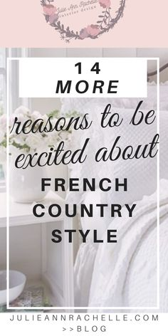 #ad Discover 14 essential elements of Romantic French Country style as exemplified in these romantic bedroom examples. This post contains affiliate links which provide a small commission to me at no additional cost to you.