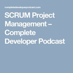 SCRUM is a framework for implementing project management in Agile Software Development. Agile Software Development, Project Management, Projects, Log Projects, Blue Prints