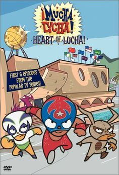 Find more tv shows like ¡Mucha Lucha! to watch, Latest ¡Mucha Lucha! Right In The Childhood, Childhood Tv Shows, Childhood Memories, Old Kids Shows, Old Shows, Old Cartoon Shows, Old Cartoon Network, Desenhos Cartoon Network, Cartoon Crossovers