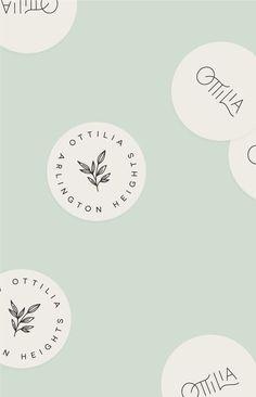 Green Brand Inspiration For Elizabeth Ellery // Branding, Photography and Website Design Design Brochure, Graphic Design Branding, Packaging Design, Corporate Design, Brand Identity Design, Website Design, Blog Design, Logo Design Studio, Logo Design Simple