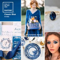 Pantone Colour of the Year Classic Blue Pantone Azul, Pantone 2020, Pantone Color, Royal Blue And Gold, Blue And Silver, Color Of The Year, Something Blue, Color Inspiration, Wedding Inspiration