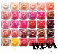 30 Simple But Effective Nail Art Tutorials Nail Polish q tex nail polish Nail Polish Art, Nail Polish Colors, Nail Polishes, Nailart, Manicure E Pedicure, Nail Polish Collection, Nail Wraps, Nail Tutorials, Nail Trends