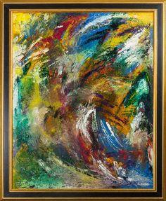 """Kim Bo Jensen - """"Spirit 6"""" finns att köpa hos oss på Galleri Melefors / is available for purchase at Galleri Melefors #art #kimbojensen #jensen #acrylpainting #painting #interiordesign #design #colors #vivid #expressive #forsale #konst #akrylmålning #målning #tavla #interiör #färger #expressiv #livfull #tillsalu #gallerimelefors #melefors"""