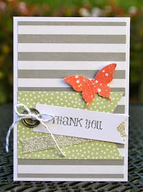 Krystal's Cards: Stampin' Up! Happenings Simply Created Thank You