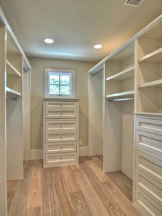A wardrobe room to hold ALL of the kids' clothing in 1 room~~no more clothing stored in the kids' rooms.  Next to the laundry room and near the bathroom for quick changing.
