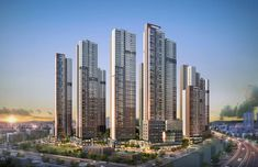 Dream House Exterior, Facade Architecture, City Art, Apartment Design, Condominium, Urban Design, San Francisco Skyline, Skyscraper, Tower