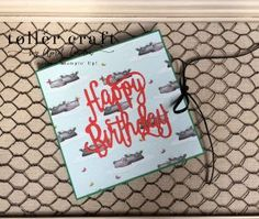 Animal Expedition accordion birthday card