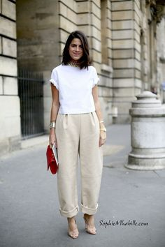 Awesome silhouette that mixes well with the neutral tones