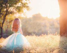 Mint Green Flower Girl Tutu Dress by littledreamersinc on Etsy