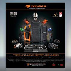 Te consideras aficionado de los videojuegos? Te invitamos a que descubras todo lo que te ofrece #Cougar