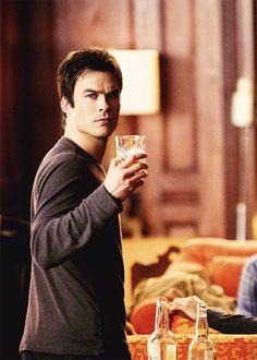 """Damon Salvatore - The Vampire Diaries 5x11 """"500 Years of Solitude"""" Still"""