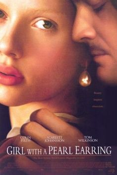 Girl with a Pearl (White) Earring Movie Poster (11 x 17)