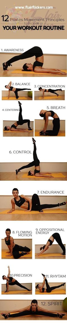 12 Pilates Movement Principles To Include in Your Workout Routine  Posted By: NewHowToLoseBellyFat.com