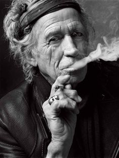Keith Richards, New York, 2011. | 14 Jaw-Droppingly Gorgeous Celebrity Portraits