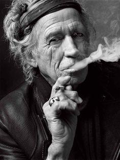 Keith Richards, New York, 2011.