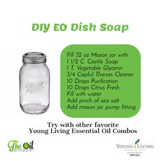 Essential-Oil-DIY-Dish-Soap or NOT?! Which do you prefer?? www.theoildropper.com