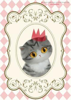 处女 [转载]我们来自萌喵星球:) 12星座猫咪插画~看看你