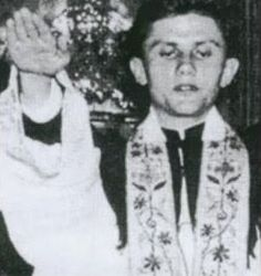 Joseph Ratzinger, aka Pope Benedict XVI since giving a Nazi salute. Ratzinger was a Hitler Youth. Roman Catholic History, Juan Xxiii, Juan Pablo Ii, Babylon The Great, Pope Benedict Xvi, Catholic Priest, New World Order, Atheism, Kirchen