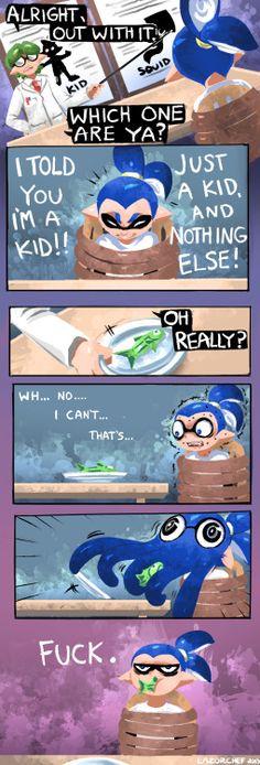 Kid or squid?