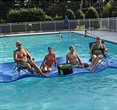 Big Joe Waterpad/Bean Pool Float Water Mat, Water Time, Floating In Water, Buyers Guide, Snorkeling, Feel Good, Diving, Coloring Books, Water Pad