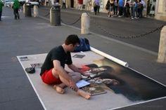 O artista!