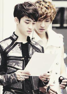Kyungsoo and Chanyeol