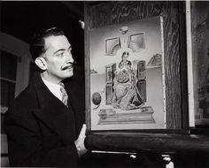 Salvador Dali and Painting | #dali #salvadordali