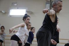 A Pasqua in Danza 2015 a Montecatini presso Officina delle Arti il Grande Maestro Michele Pogliani!!! Grazie...