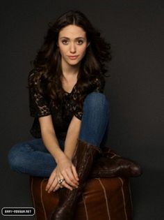Emmy Rossum. I don't think I realized how talented she really is until I watched Shameless...
