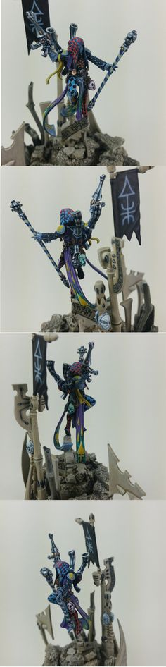 Harlequin ShadowSeer (Close Ups)