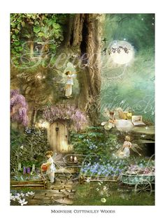 Fairy Print           Moonrise by Faerieality on Etsy, $32.00