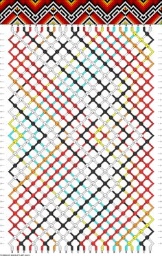 24 strings, 8 colors, 38 rows