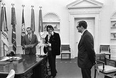 The Bizarre Story Behind The Time Elvis Met Nixon