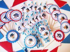 Postreadicción: Galletas decoradas, cupcakes y cakepops: Imprimibles gratuítos de Playmobil / Playmobil free printables