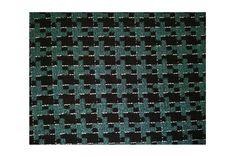 Tejido tipo chanel de dibujo pata de gallo de color verde y negro, idóneo para chaquetas tipo tweed, abrigos, vestidos, chaquetón..#chanel #lana #patadegallo #bicolor #verde #negro #tweed #abrigos #trajechaqueta #vestidos #tejido #tejidos #textil #tela #telasseñora #telasniños #comprar #online