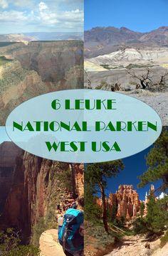 De VS telt meer dan 50 nationale parken. Allemaal even mooi en divers. Op zoek naar 6 leuke National Parken in het westen van de VS?