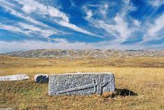 Stećak (Tombstone), Gvozno polje, Bosnia and Herzegovina