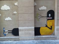 grafitis el Soho de Málaga