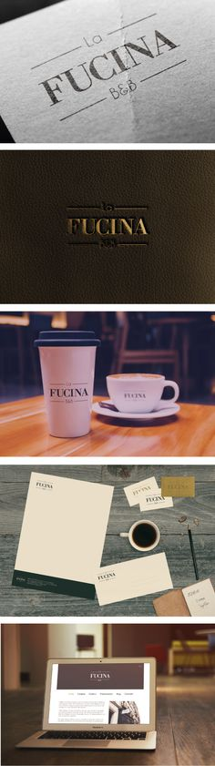 Project for Bed&Breakfast // Naming and Logo Design, Branding, Web design