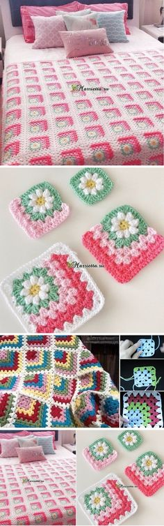 How to Crochet 3D Blanket