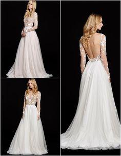 classic Hayley Paige wedding dress