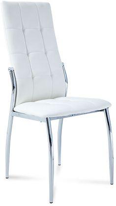 Krzesło Emma Biały   Abra Meble cena 136,00zl Abra-meble Chair, Inspiration, Furniture, Home Decor, Biblical Inspiration, Room Decor, Stool, Home Interior Design, Side Chairs