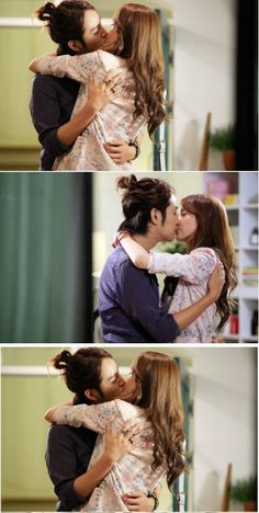 my favorite scene, kkkkk Love Rain  Joon and Ha Na