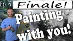 """We finished the first """"Oil Painting with You"""" Interactive Video series by painting in some foreground wildflowers! If you want to learn more about this fun and exciting process, watch Episode 1 and also be on the look out for the next Interactive Painting Video! For more information about full length DVD lessons, visit www.paintwithkevin.com"""