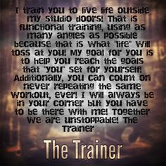 My goal is to help you reach the goals that you have set for yourself! The Trainer #thetrainer #hoodriver#personaltrainer #functionaltraining #functionaltrainer#rusticparkour #insideoutfitnesshoodriver #ultramarathon #fitness #functionaltrainer #health #running #fitnessaddict #workout #cardio #train #training #healthy #parkour #freerunning #columbiarivergorge #active #strong #motivation #determination #lifestyle #getfit #fatloss #fatfighters7 #exercise
